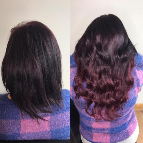 Pre bonded hair extensions mobile service in cashel and thurles co. tipperary