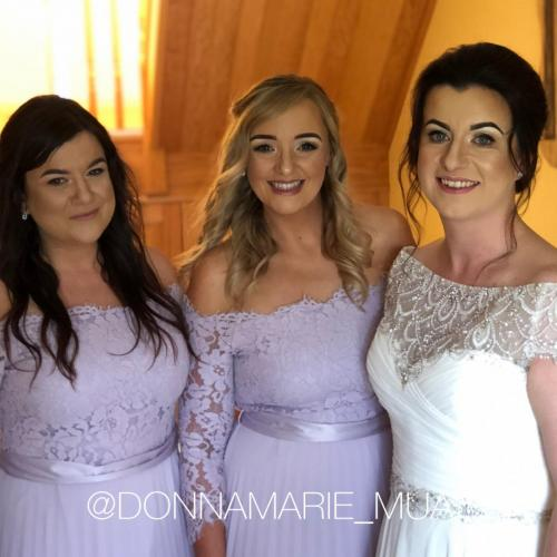 Wedding Bridal Party Makeup - Bridesmaid, bride, Wedding Makeup Artist.