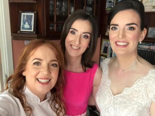 Wedding Makeup Tipperary Town, Bride, Bridesmaid