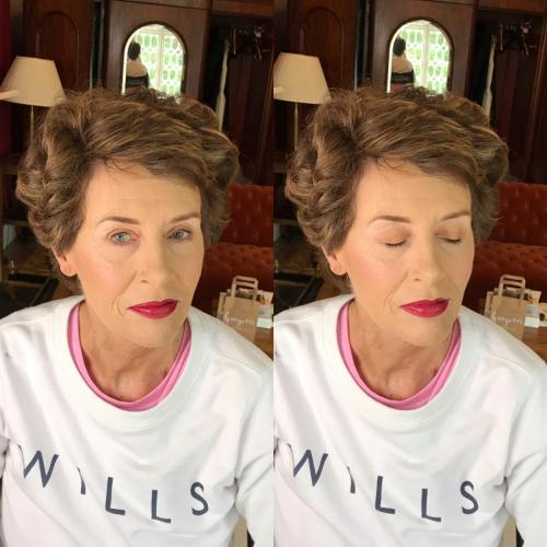 Mother of the Bride  Wedding Makeup at Ashley House, Nenagh.